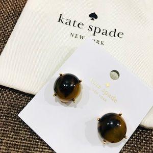 Kate Spade tortoise post stud earrings